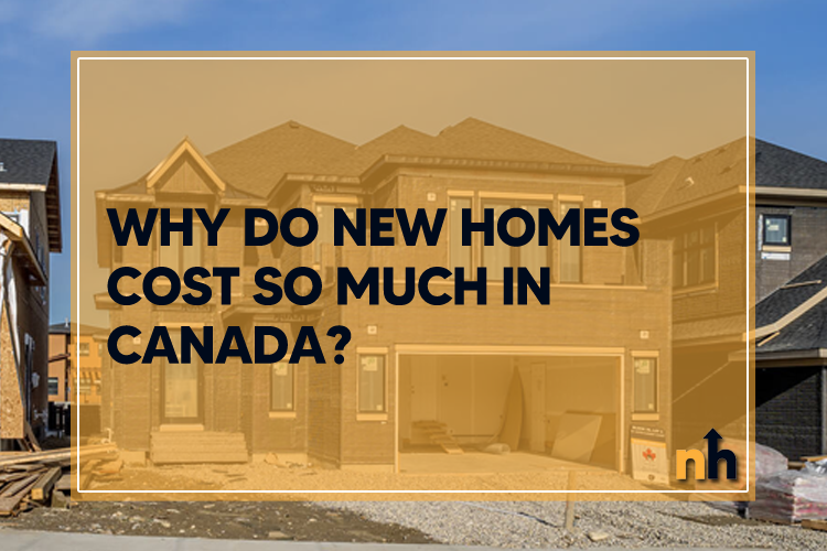 new homes cost canada