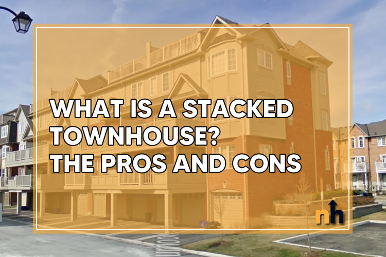 stacked townhouse pros cons
